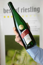 Siegerwein bei best of Riesling 2010